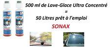 500ML LAVE GLACE ULTRA CONCENTRE= 50 LITRE PRET A EMPLOI SONAX Lamborghini