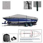 Alumacraft Fisherman 160 CS Trailerable Fishing Bass Boat Cover grey