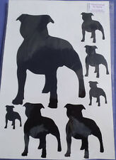 Staffie/Staffordshire Bull Terrier  stickers