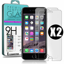 Lot VITRE FILM PROTECTION EN VERRE TREMPE D'ÉCRAN iPhone 7 / 8 /PLus 5/S/6/6S/SE