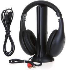 SmartEra®HiFi Wireless Headphone For FM Radio,MP3,PC,TV,Audio Mobile Phones