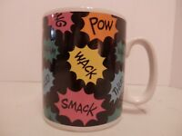 Vintage 1995 DC Comics Batman Oversize Ceramic Coffee Cup/Mug-New-Free Shipping