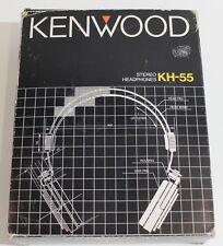 KENWOOD KH-55 Vintage Stereo Headphone Kopfhörer sehr selten rare