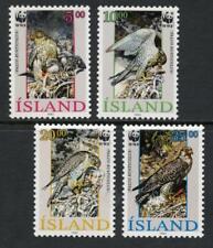 Iceland: 1992 WWF Gyrfalcon (762-765) MNH