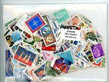 1000 World wide different WESTERN EUROPEAN stamps.
