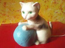 Katze - Figur - Lampe - Leuchte - Kinderlampe - Schlummerlicht - Heico