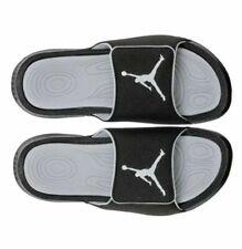 Nike Jordan Hydro 6 Black/White/Wolf Grey Men's Sandals sz 11 12 881473-011