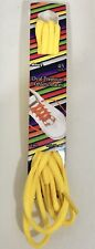 Oval Premium Athletic Laces 45 Inch Yellow
