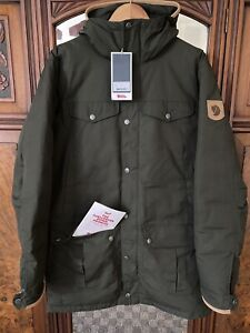 Fjallraven Greenland No 1 Down Parka Forest Green Size M RRP £750