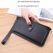 Crossbody Pu Leather Handbag Wallet Case Purse Wristlet Bag Phone Pouch Strap