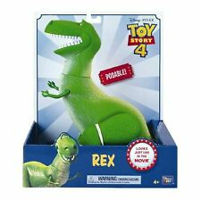 Toy Story 4 REX The Dinosaur Poseable Action Figure 30cm
