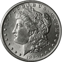 1899-O Morgan Silver Dollar Brilliant Uncirculated - BU