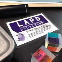 Blade Runner 2049 - PropOfficer 'K' Police Detective Wallet ID / Cosplay Card