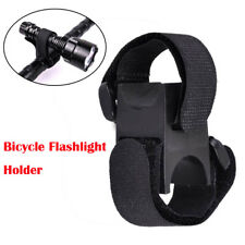 Universal Bike Bicycle Cycling Flashlight Torch Handle Bar Holder Clamp Mount