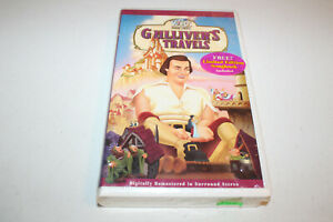 Gullivers Travels (NEW SEALED VHS 1999, Clamshell) with Limited Edition Songbook