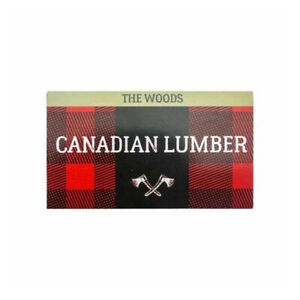 Canadian Lumber Woods Unbleached Pure Wood Rolling Paper  Double - 25 booklet