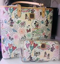 More details for disney dooney and bourke parks sketch purse & large tote