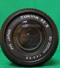 TOKINA SZ-X 80-200mm 1:4.5-5.6 FITS A MINOLTA X-370