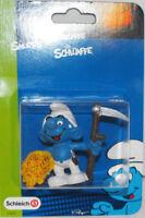 Farmer Smurf 2 inch Plastic Figurine in Package 20145