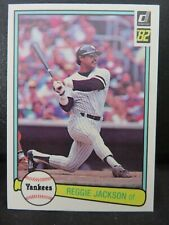 1982 Donruss Baseball Card. 'Set Break' HOF Reggie Jackson #535 Yankees NM/MT