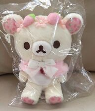 Korilakkuma Store Limited Plush Doll Pink 2017 San-X NWT F/S Sweet Happy days