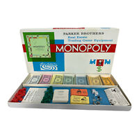 Vintage Monopoly - Parker Brothers Real Estate Trading Game - 1961 - Complete