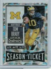 2016 Panini Contenders Draft Picks Tom Brady Cracked Ice Season Ticket #'d 11/23
