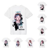 Hot KPOP BTS Bangtan Boys Wings Suga JIMIN RAP MONSTER Unisex T-shirt Tee Tops