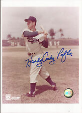 Handy Andy Pafko Autograph / Signed 8 x 10 Photo Brooklyn Dodger