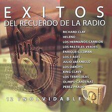 Various Artists : Exitos Del Recuerdo De Radio: 12 Inolvid CD