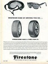 1964 Firestone Deluxe Champion & Super Sports Tire Print Ad