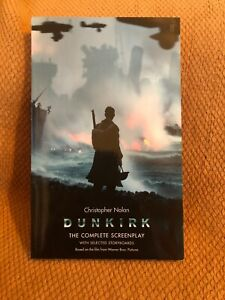 DUNKIRK*FYC Christopher Nolan*Complete Screenplay*With Selected Storyboard