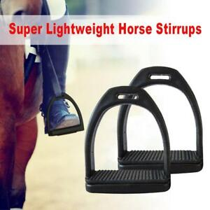 Horse Riding Stirrups For Horse Rider Lightweight Wide Track Anti Slip Equestria