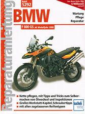 Buch Reparaturanleitung BMW F 800 GS / F800GS ab Modelljahr 2008 Band 5292