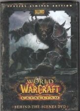 Blizzard World of Warcraft WoW Behind The Scenes Cataclysm DVD Collector Edition