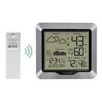 308-1417 La Crosse Technology Atomic Forecast Weather Station with TX141TH-BV3