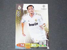 MESUT ÖZIL REAL MADRID UEFA PANINI FOOTBALL CARD CHAMPIONS LEAGUE 2011 2012