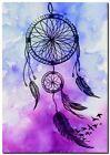 "Beautiful Dreamcatcher & birds watercolor CANVAS ART PRINT poster 24""X18"""