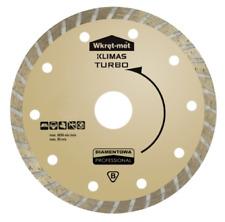 Disque Diamanté Turbo ø115 125 MM Béton Clinker de Tronçonnage 7 Hauteur Segment