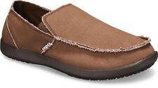crocs Slipper Santa Cruz Mens Khaki / Khaki Croslite Normal Herren