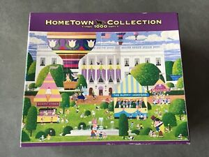 Complete HOMETOWN COLLECTION 1000 piece puzzle (perfect for Easter)