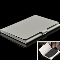 Mode Visitenkartenbox Etui Visitenkartenhalter Business ID Card Holder Metall