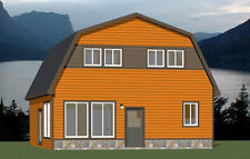28x32 House -- 5 Bedroom 2 Bath -- PDF Floor Plan -- 1,544 sq ft -- Model 4E