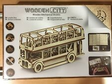 WOODEN MECHANICAL MODELS,AUTOBUS DE LONDRES,Ref.WR303