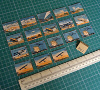 """18 Vintage Gibson Wargame Spare Parts """"Aviation"""" 1920s/30s Period.  (341)"""