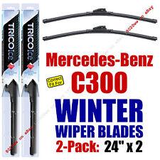 WINTER Wipers 2-Pack Premium Grade - fit 2008-2014 Mercedes-Benz C300 - 35240x2