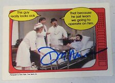 Don Muraco Signed WWF 1985 Topps O-Pee-Chee OPC Card #58 WWE Autograph The Rock