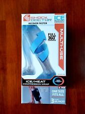 New Shock Doctor Ice/Heat Recovery Compression  Wrap Black Multi-Use Leg and Arm