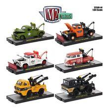 M2 MACHINES 1/64 AUTO-TRUCKS RELEASE 44 IN ACRYLIC CASES 6 PIECE CAR 32500-44