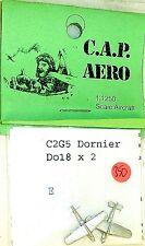2 x Avion C2G5 Dornier Do18 Aero pour Modèle de bateau 1:1200 SHP350 å √